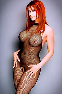 Bianca Beauchamp Black Fishnet